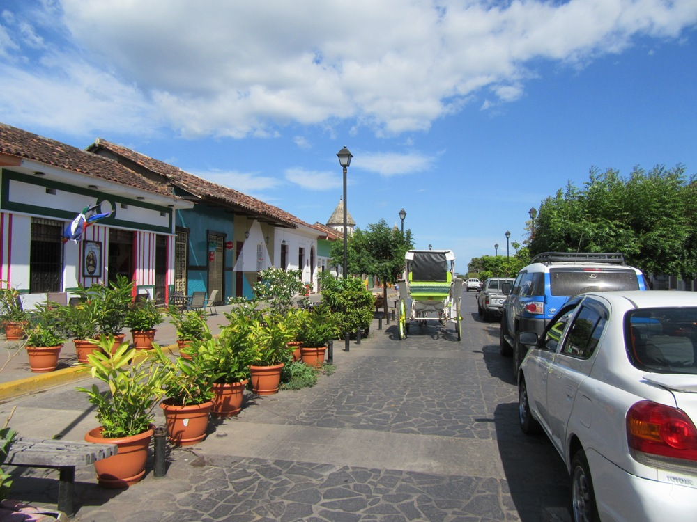 Main street Granada