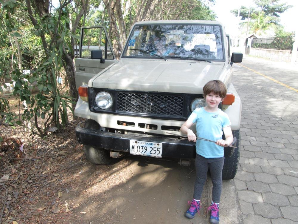 Nicaragua Jeep