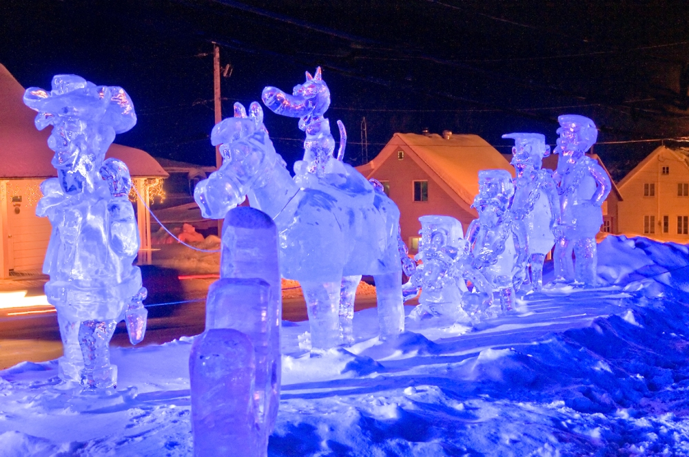 St Côme ice sculpture