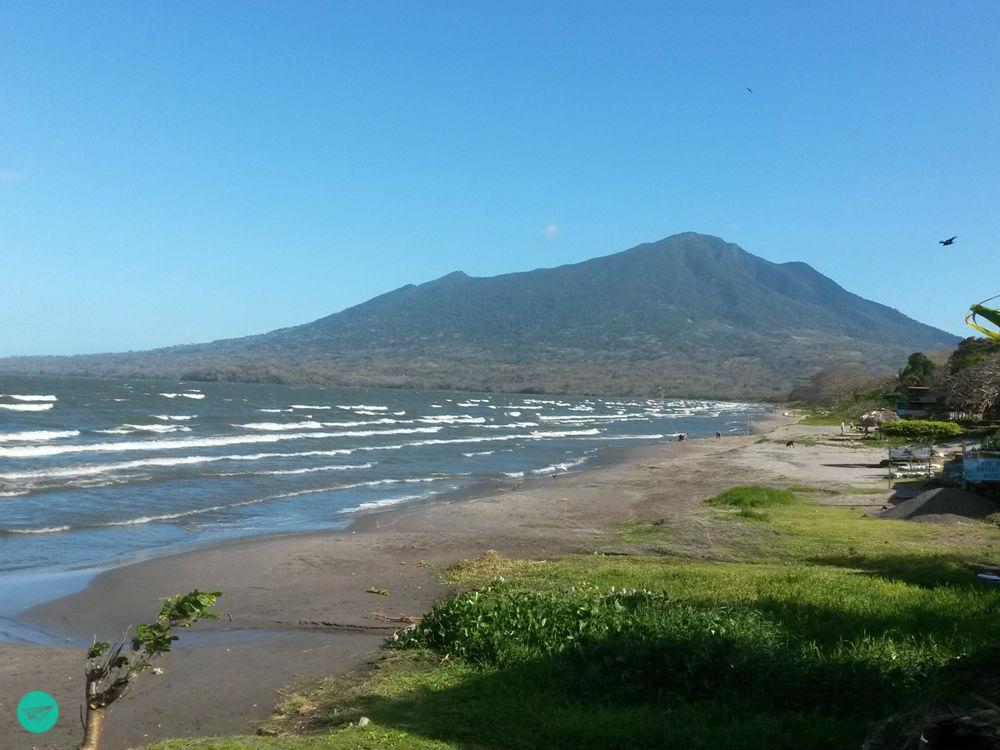Blick auf Vulkan Maderas