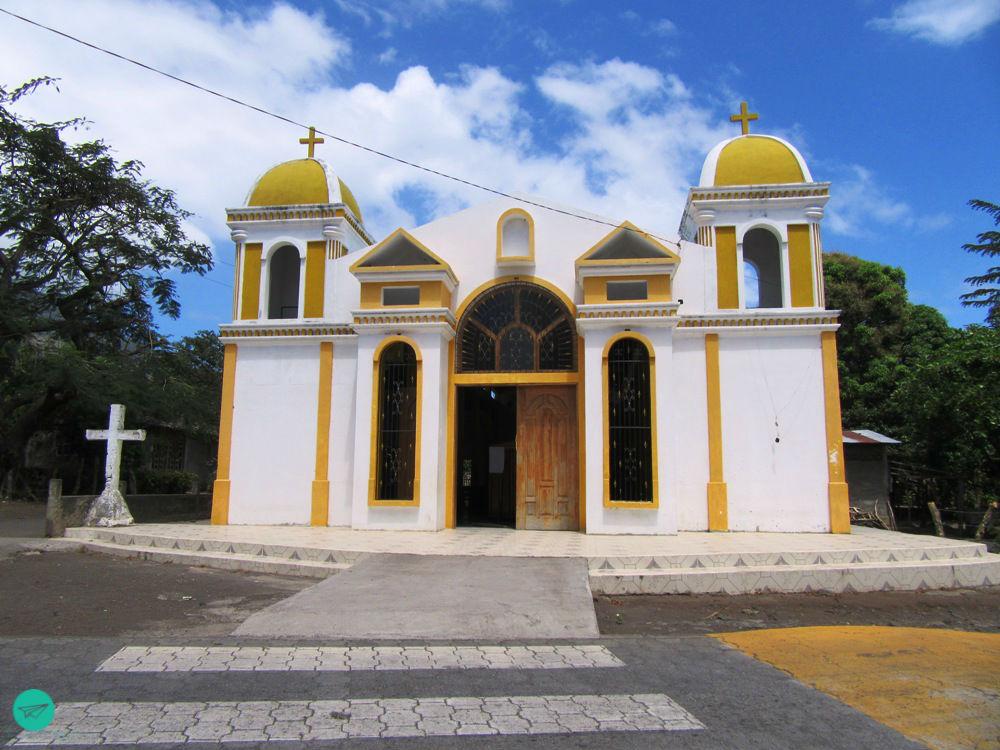 church at the street
