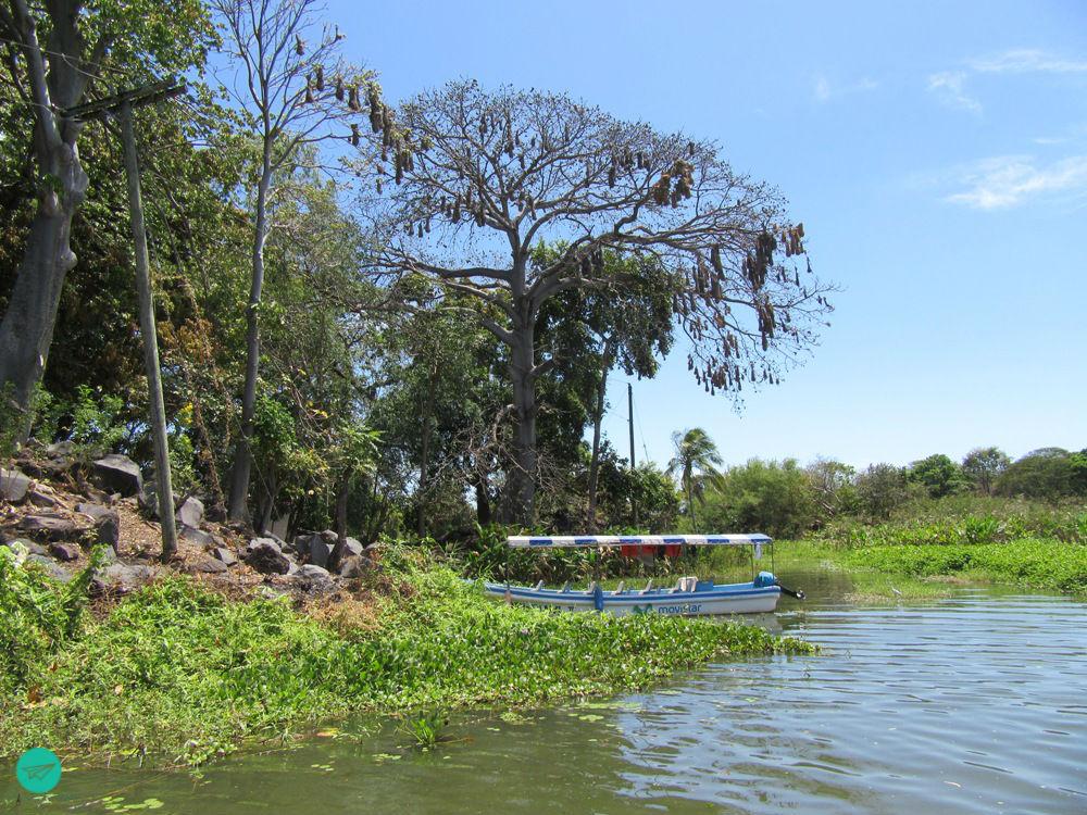 on Nicaragua Lake