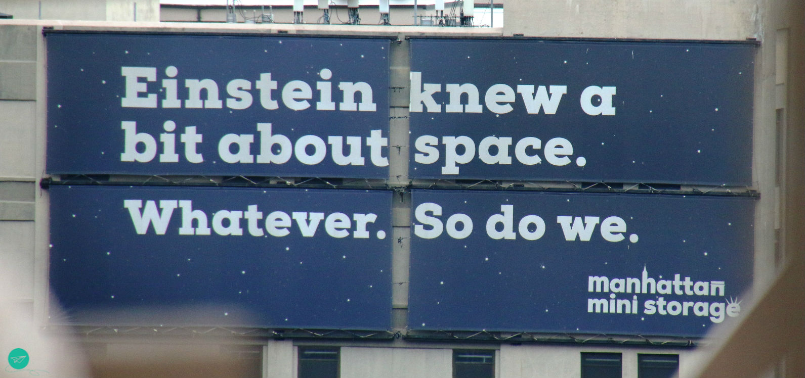 Einstein advertisement