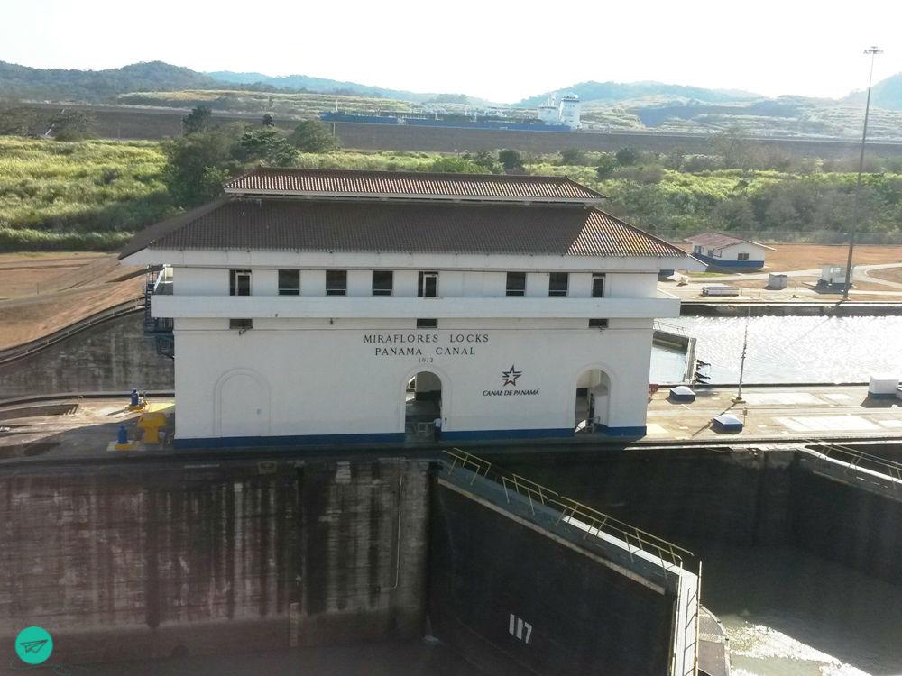 Miraflores Lock Panama Canal
