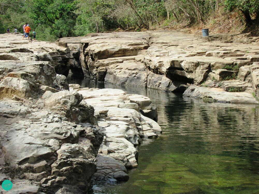 mini canyon cangilones de Gualaca