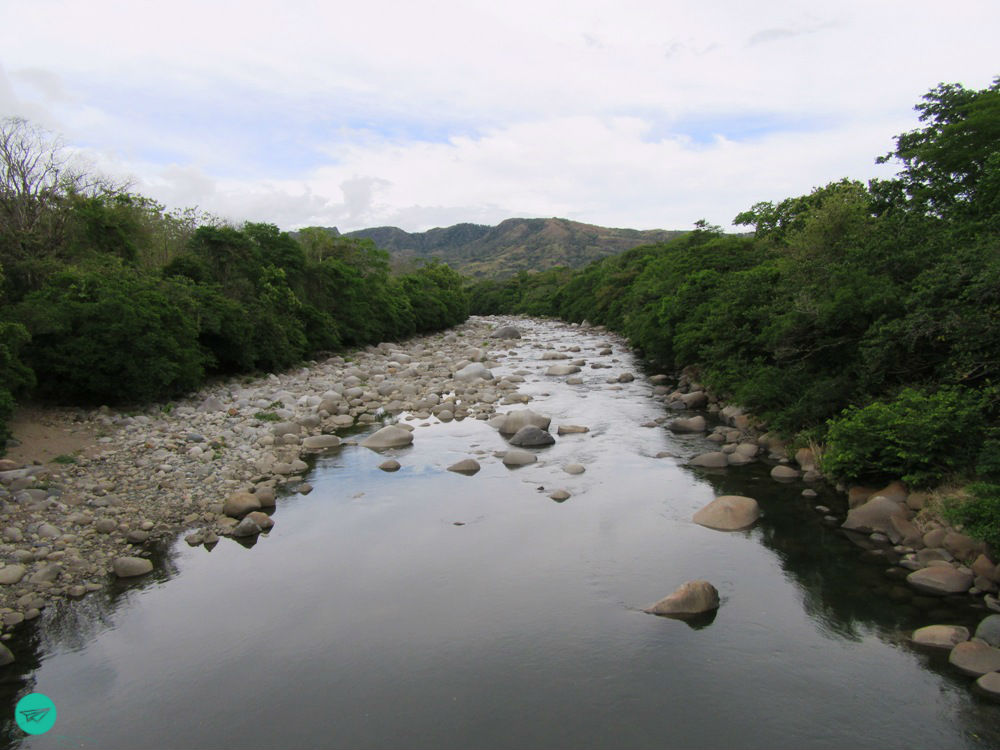 river of the hot spring