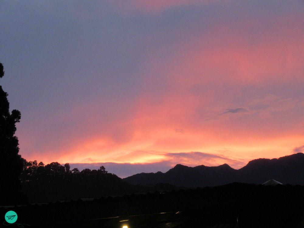 sunset region of Boquete