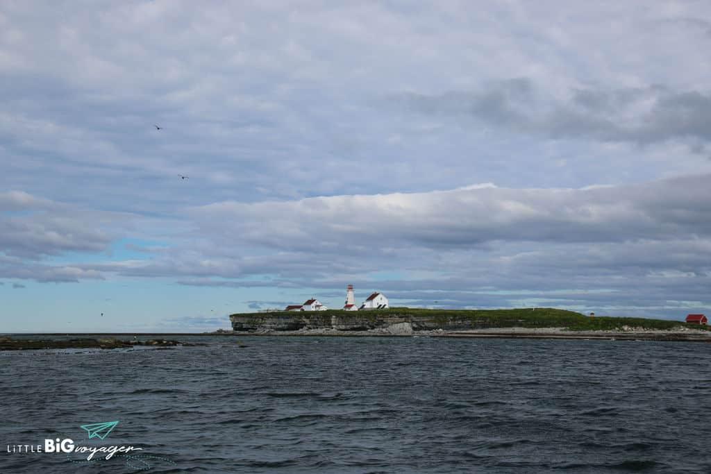 This is Ile aux perroquetes at the archipelago of Mingan in Quebec.